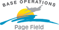 Base Operations at Page Field (KFMY) Logo